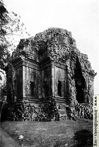 [Picture: Ruined Temple of Prambanam]