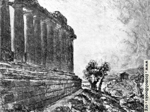 [Picture: IV. From Temple to Temple, Girgenti]