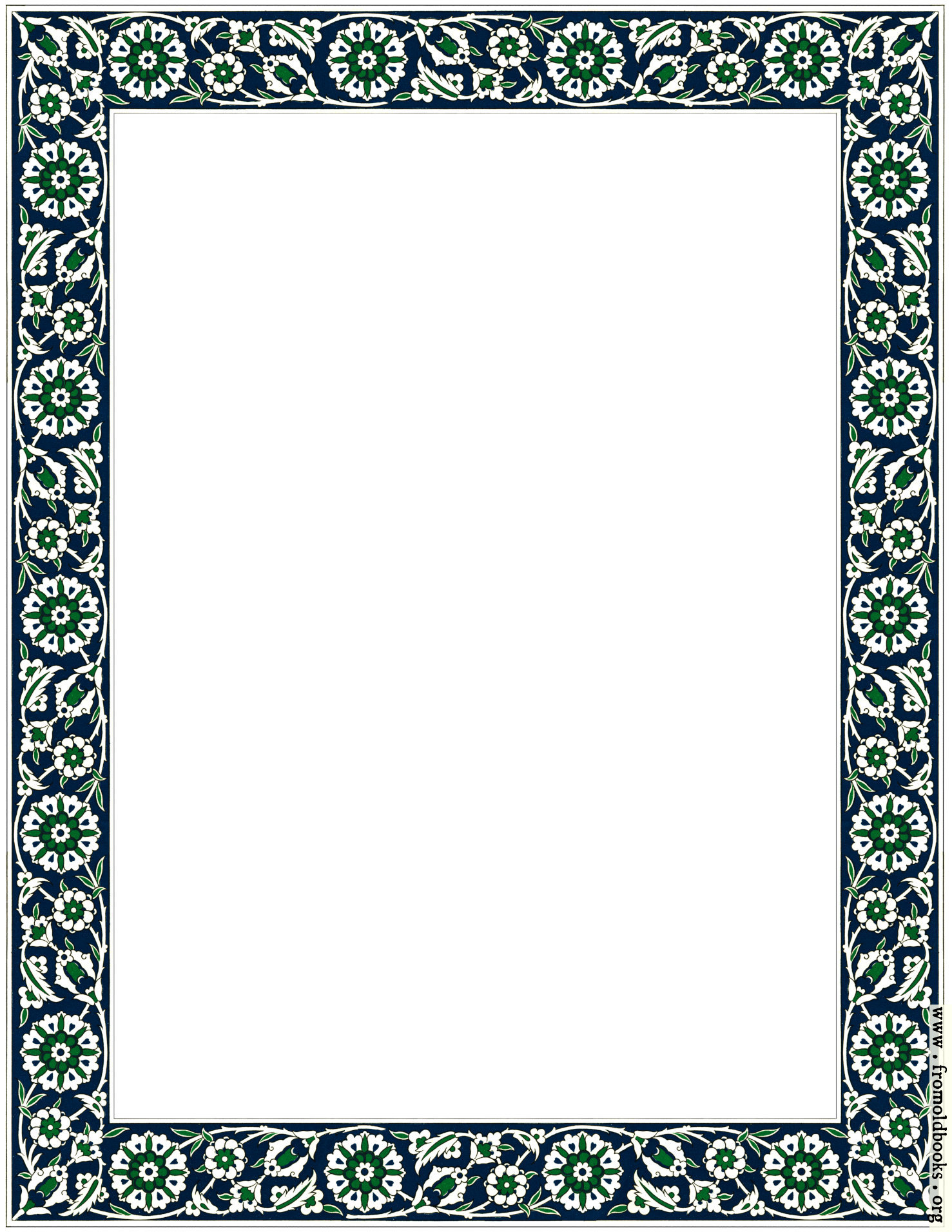 [Picture: Fig. 57. No. 6.—Persian Ceramic Tile Border]