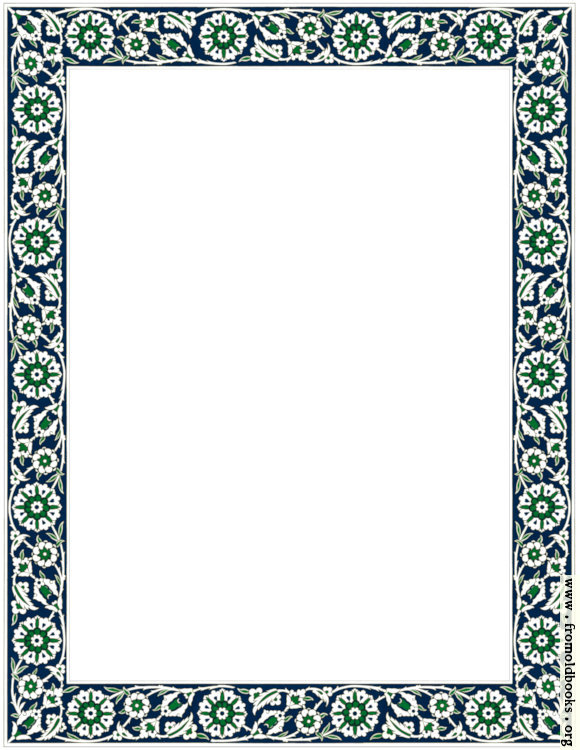 [Picture: Fig. 57. No. 6.—Persian Ceramic Tile Border]