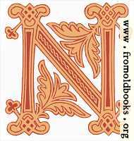 [Picture: Fig. 99 No. 8.—Anglo-Saxon Initial letter N]