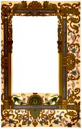 Fig. 99 No. 7.—Ornate border, 9th century, Gallo-Frankish School.