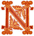 [picture: Fig. 99 No. 8.---Anglo-Saxon Initial letter N]