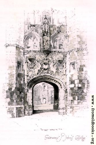 [Picture: Gateway of St. John's College, Cambridge]