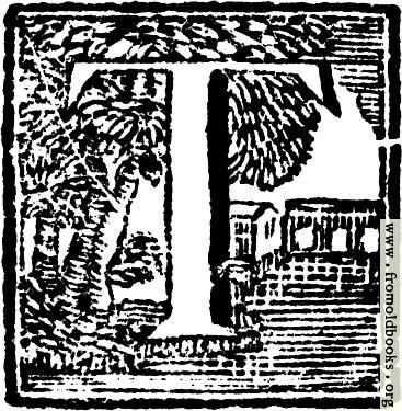 [Picture: Initial Letter T Woodcut]