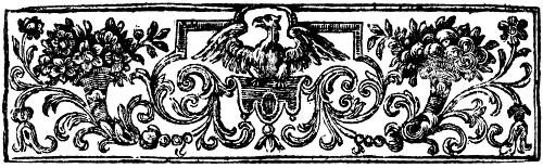 [Picture: Chapter Heading Woodcut featuring Eagle]