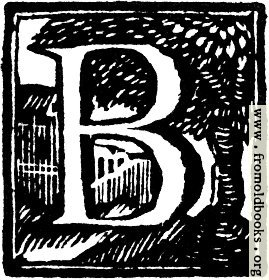 [Picture: Initial letter B Woodcut]