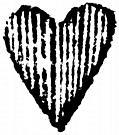 [Picture: Detail: engraved heart]