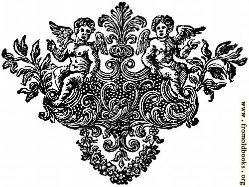 [Picture: Chapter end decoration: cherubs]