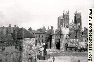 [picture: The Minster and Bootham Bar]