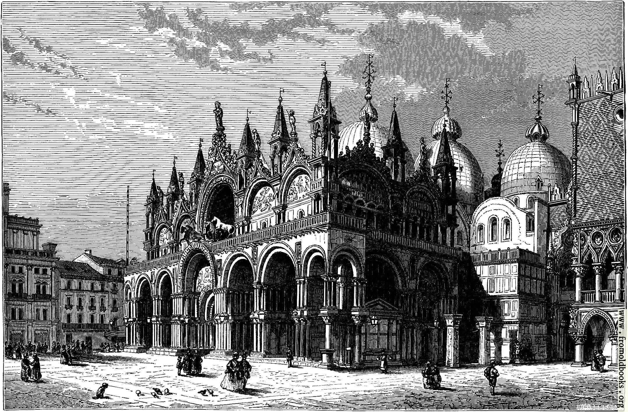 [Picture: Cathedral of S. Mark, Venice]