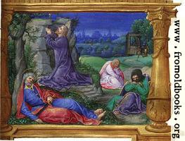 [Picture: Miniature: Garden of Gethsemanu]