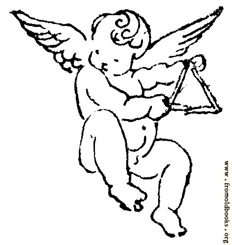 [Picture: Cherub with Triangle]
