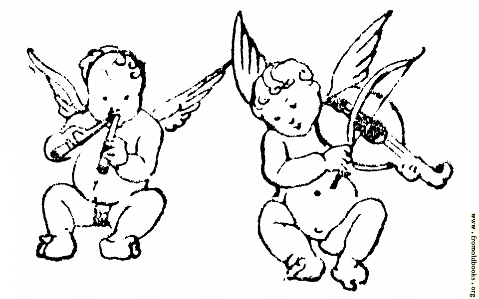 [Picture: Two cherubs play flute and violin]