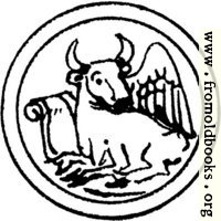 [picture: Symbol of St. Luke the Evangelist]