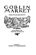 Goblin Market Title Page