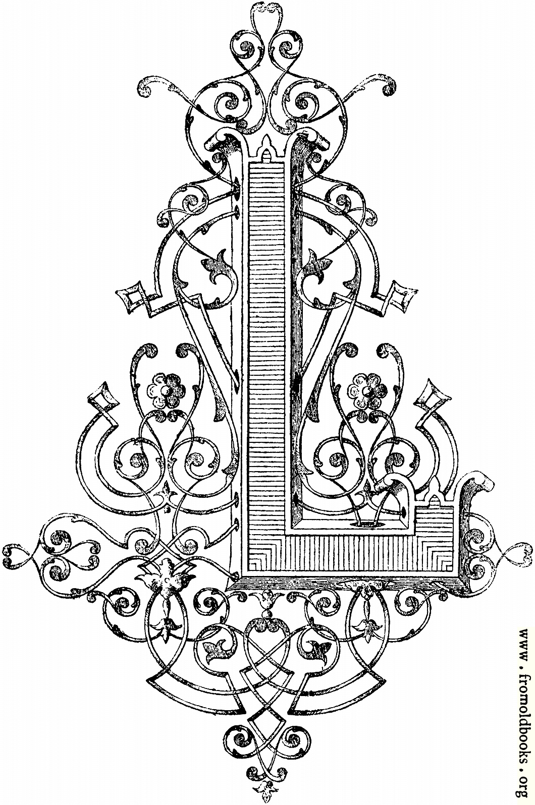 """[Picture: Decorative initial capital letter """"L"""" by Blin]"""