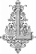 [picture: Decorative initial capital letter ``L'' by Blin]