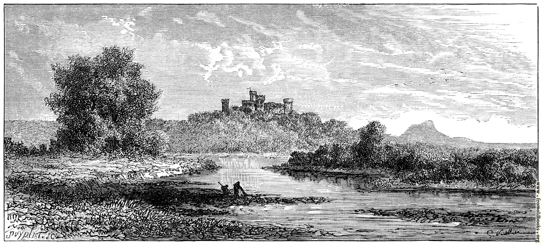 [Picture: Le Chateau de la Grangefort-sir-Allier. Vue Generale.]