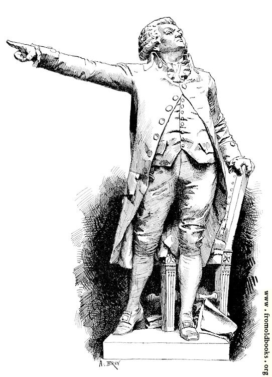 [Picture: Statue of Mirabeau]