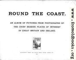 Title Page, Round The Coast
