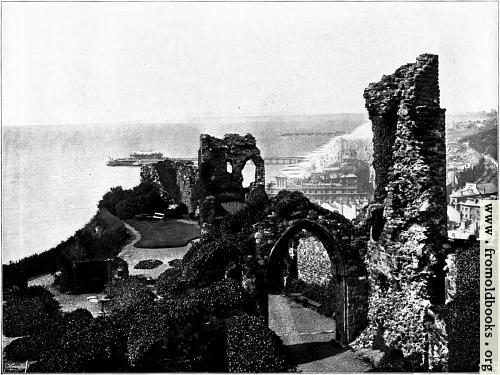 [Picture: Hastings: The Castle.]
