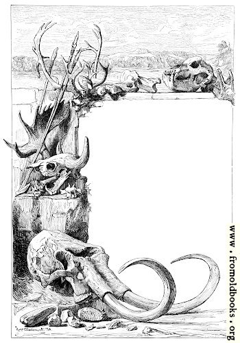 [Picture: Border of ancient skulls]