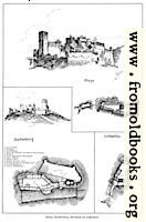 [Picture: Castles 8: Khaya, Starhemberg, Grundriss von Lichtenfels]