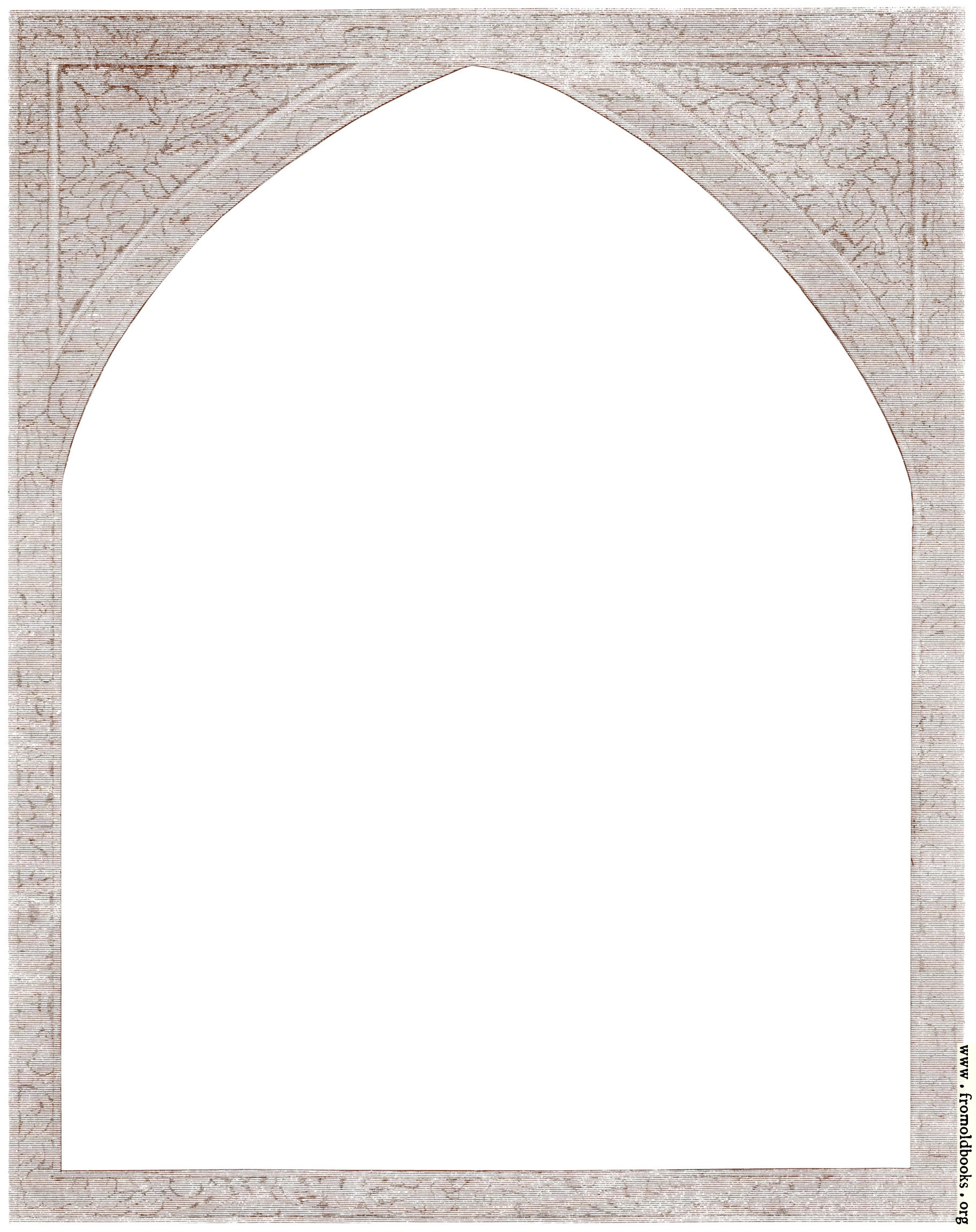 [Picture: Arched textured border from Paul and Virginia in the Forest]