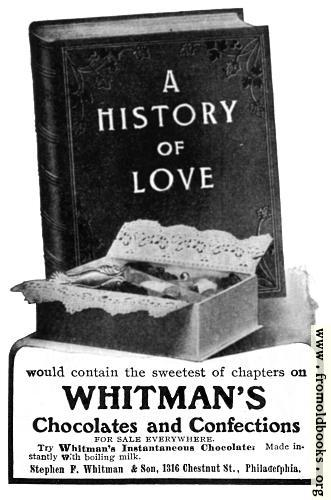 [Picture: Old Advert: Whitman's Chocolates]