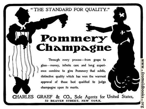 [Picture: Pommery Champagne]