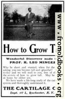 [picture: Old Advert: How to Grow Tall]