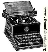 [picture: Antique typewriter]