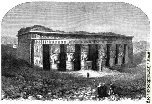 [Picture: Temple of Dendera]