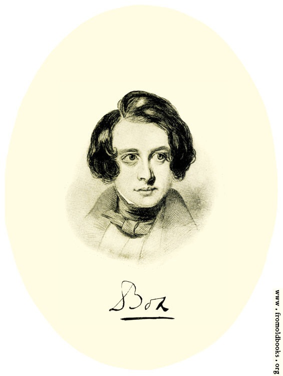 [Picture: Crayon Sketch of Charles Dickens, 1838]