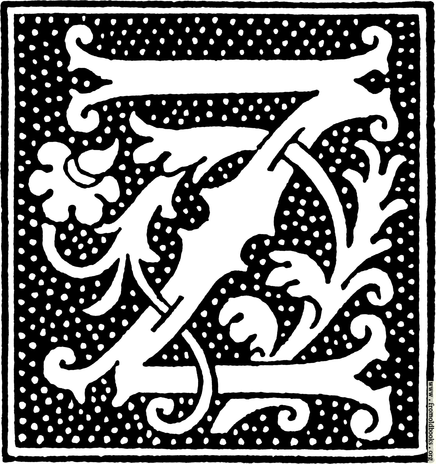 Clipart initial letter z from beginning of the 16th century 1855x1972 456k jpg free download altavistaventures Images
