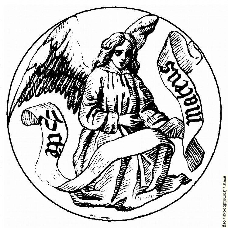 [Picture: Badge of Saint Matthew the Evangelist]