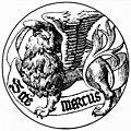 [picture: Badge of Saint Mark the Evangelist]