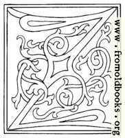 [picture: clipart: initial letter Z from late 15th century printed book]