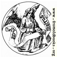 [picture: Badge of Saint Matthew the Evangelist]