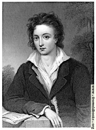 [Picture: Frontispiece: Portrait of Percy Bysshe Shelley]