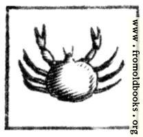 [Picture: Cancer (the Crab)]