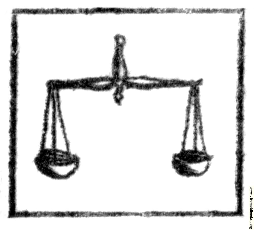 [Picture: Libra (the scales)]