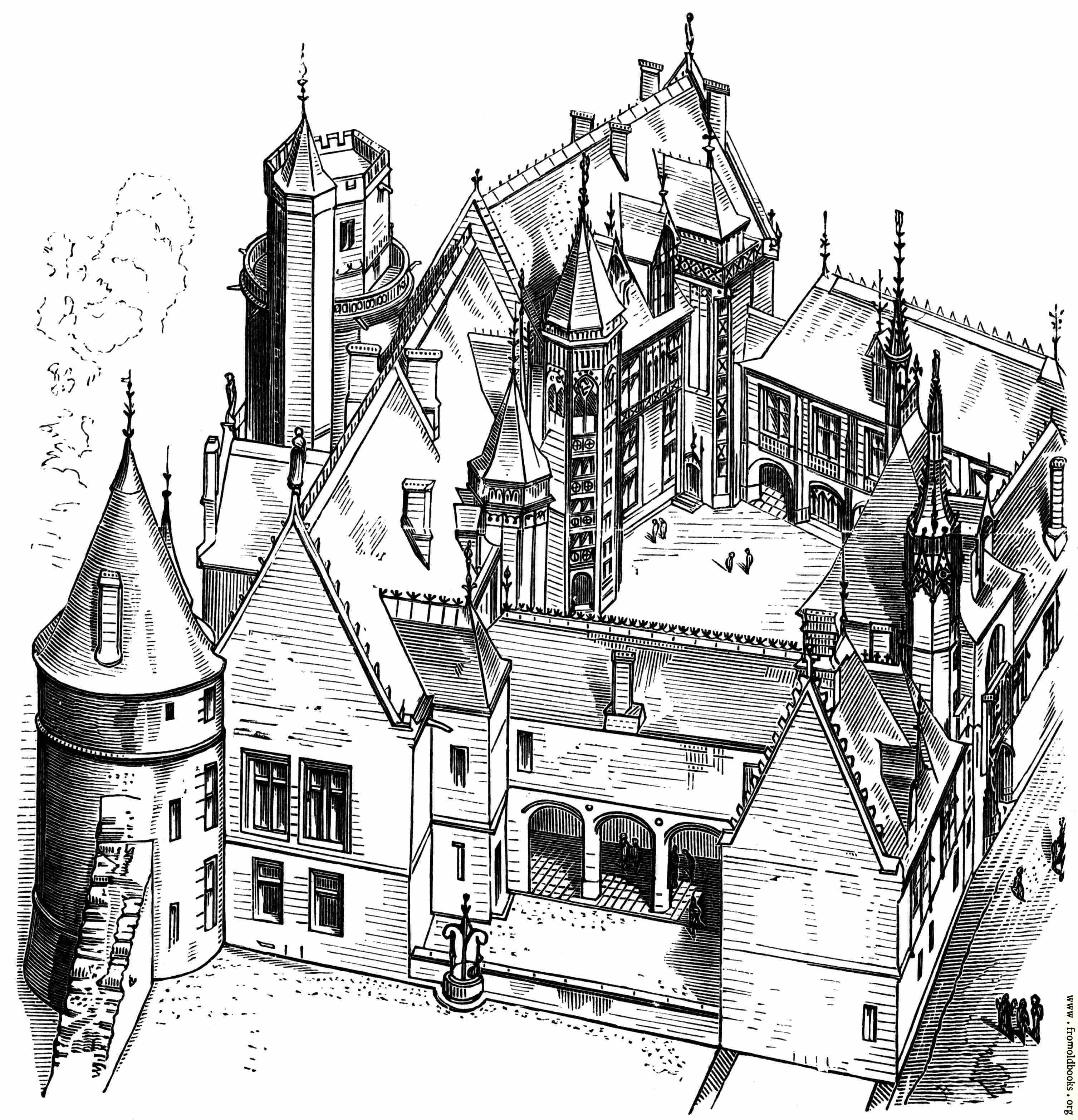 7 House Of Jacques C Ur At Bourges Begun 1443