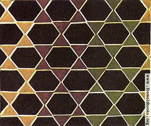 [Picture: [Ancient] Greek Marble Mosaics 9: Hexagons]