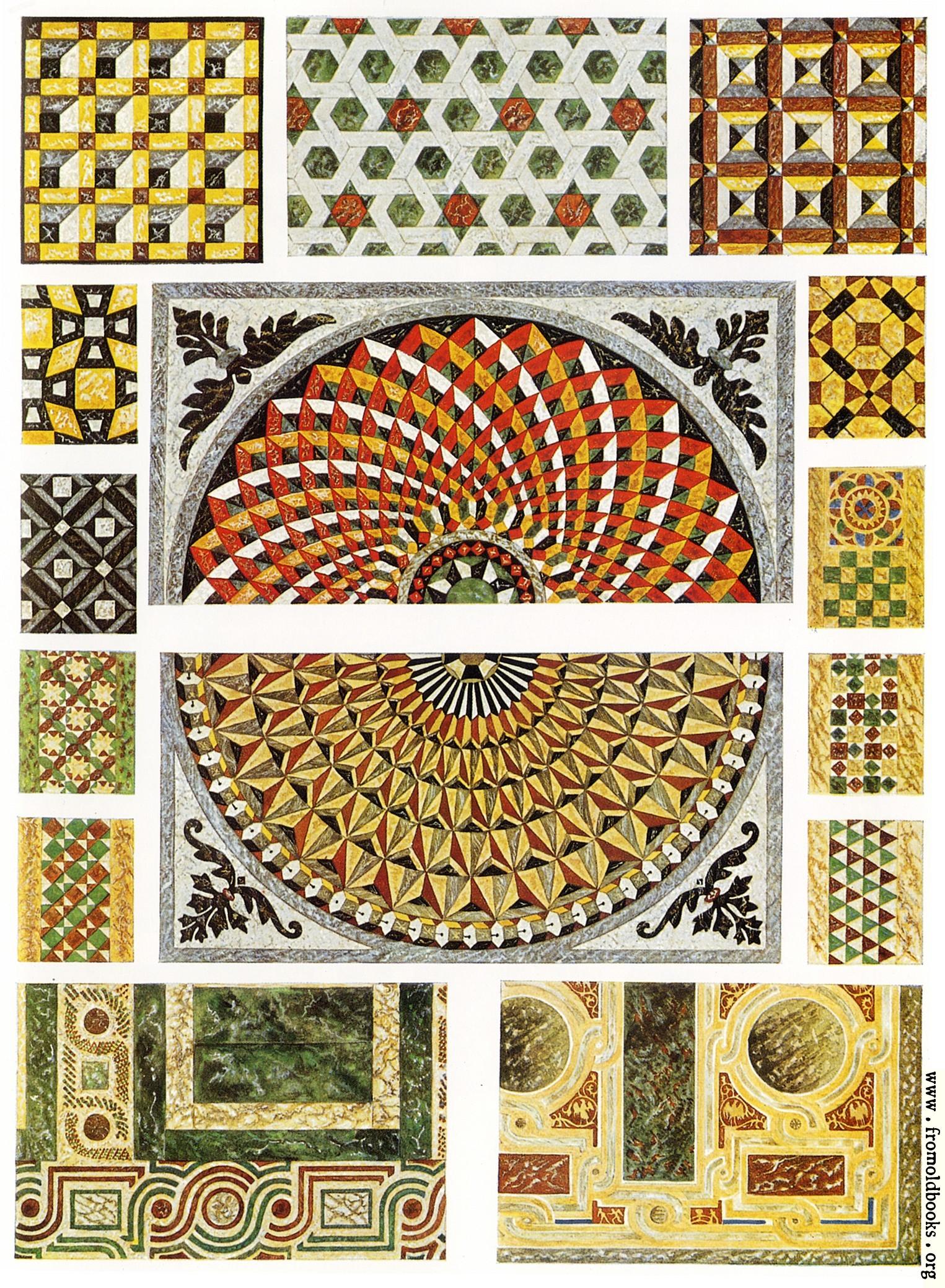 Byzantine Marble Floor Mosaics