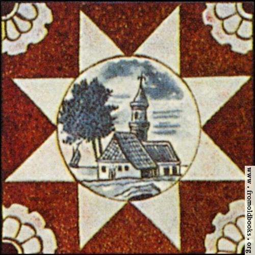 [Picture: Dutch Delft ceramic tile 1]