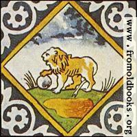 [Picture: Dutch Delft ceramic tile 12]