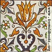 [Picture: Dutch Delft ceramic tile 17]