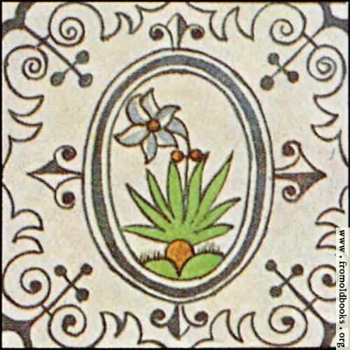[Picture: Dutch Delft ceramic tile 19]